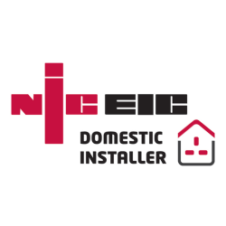 We are NECEIC approved electricians for domestic installations